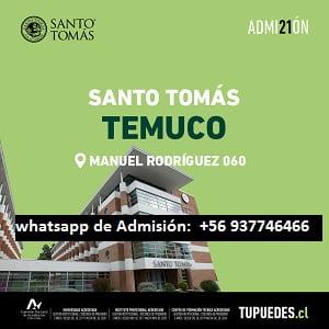 Admisión Universidad Santo Tomás Temuco